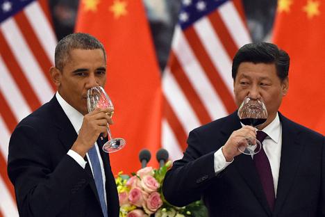 Pakar menilai ketika ketegangan hubungan AS-Tiongkok meningkat tajam, Rusia perlu mendukung Tiongkok. Foto: Reuters