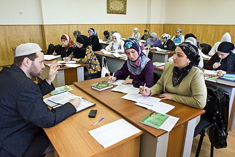 Saat ini terdapat sejumlah lembaga pendidikan keagamaan untuk umat muslim di Rusia, namun hanya beberapa dari mereka yang mendapat akreditasi penuh dari pemerintah. Foto: TASS