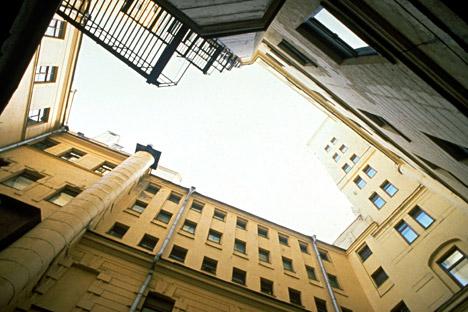 Foto salah satu halaman bagian dalam Lubyanka. Foto: Getty Images/Fotobank