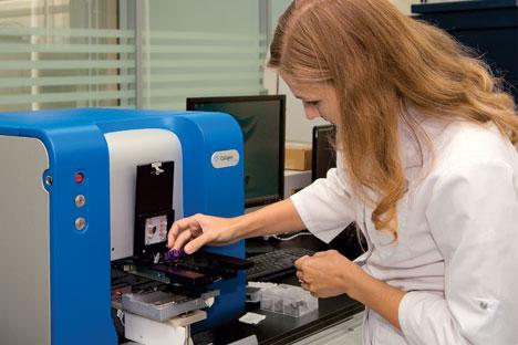 """Pada akhir November, Biocad, sebuah perusahaan biofarmasi Rusia, mengumumkan pembentukan sebuah platform teknologi """"pintar"""" terbaru. Foto: Press photo"""