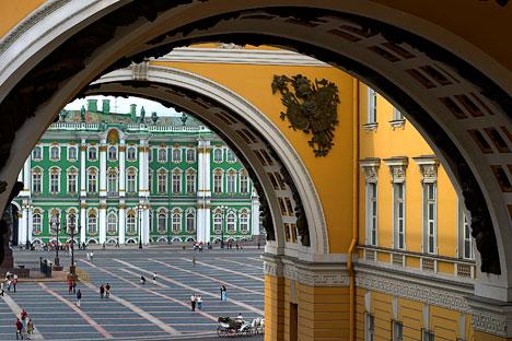 Museum Hermitage di Saint Petersburg. Foto: Aleksandr Petrossian