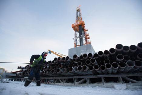 Kementerian Keuangan Rusia menyatakan untuk sementara mereka mendukung prediksi penurunan ekonomi sebesar 0,8 persen pada 2015. Foto: Getty Images/Fotobank