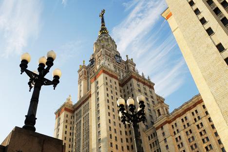 Universitas Negeri Moskow. Foto: Andrei Lukin/TASS