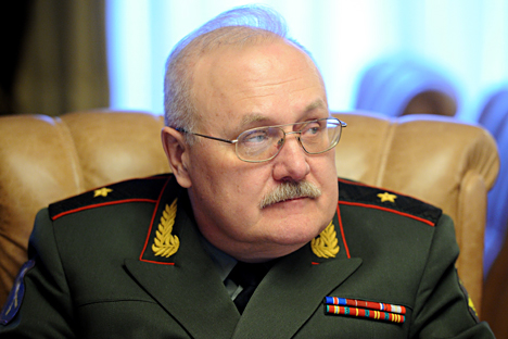 Igor Sheremet, Ketua Dewan Komisi Industri Militer Pemerintah Rusia bidang sistem kendali otomatis, perhubungan, pengintaian, peperangan elektronik dan informasi.