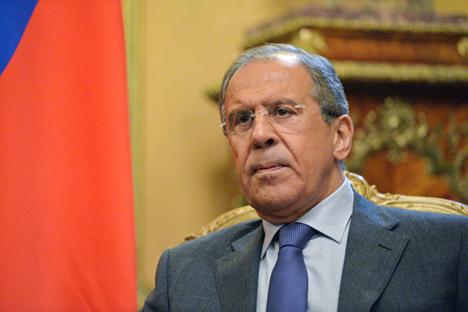 Lavrov memaparkan bahwa AS tidak mengacuhkan pendapat yang disuarakan oleh pihak Rusia. Foto: Vladimir Pesnya/RIA Novosti
