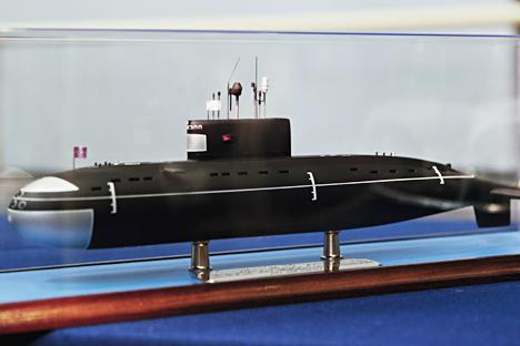 Model kapal selam diesel-elektrik Novorossisk. Foto: Alexei Danichev/RIA Novosti