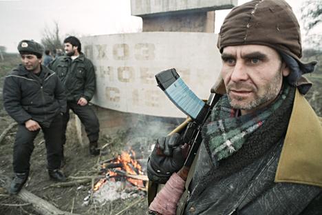 Perang Chechnya I berakhir pada Agustus 1996 saat Rusia menarik mundur pasukannya. Foto: Igor Mikhaliv/RIA Novosti