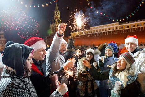 Cuaca dingin dan salju justru tidak mengganggu, malah membantu menunjukan bagaimana rasa musim dingin Rusia yang sesungguhnya. Foto: Reuters