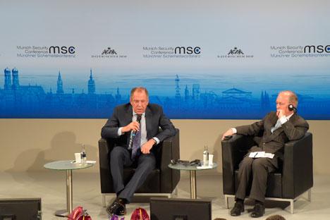 Konferensi Keamanan Munich merupakan konferensi tahunan kebijakan keamanan internasional yang telah berlangsung sejak 1963. Foto: Kemlu Rusia
