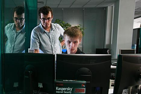 Ahli dari Kaspersky Lab tak bisa memberi informasi lebih jauh mengenai Carbanak sebelum investigasinya selesai. Valeriy Sharifullin/TASS