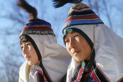 Pada zaman dulu, penduduk asli Timur Jauh kerap disebut 'inorodtsy' (non-Rusia), tapi sekarang mereka dianggap sebagai penduduk pribumi wilayah Timur Jauh. Kredit foto: TASS/Yuri Muravin