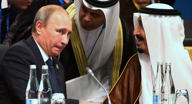 Rusia dan Arab Saudi Bahas Harga Minyak Bersama