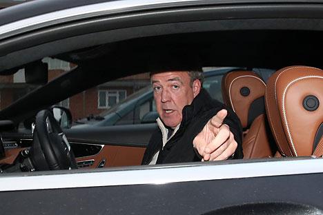 Pihak Zvezda telah mengirim surat resmi ke manajer Clarkson Daniel Rix dan menyampaikan tawaran bagi Clarkson untuk menjadi pembawa acara otomotif di stasiun televisi Zvezda di Moskow. Foto: Legion-Media