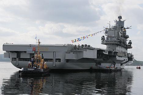 Krisis Ukraina dan bentrokan dengan Barat membuat Rusia mempercepat realisasi pembuatan kapal perang kelas berat. Foto: Mikhail Metzel/TASS