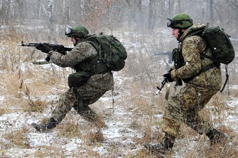 Dalam beberapa tahun ke depan militer Rusia akan memiliki 'jubah tak terlihat'. Foto: RIA Novosti