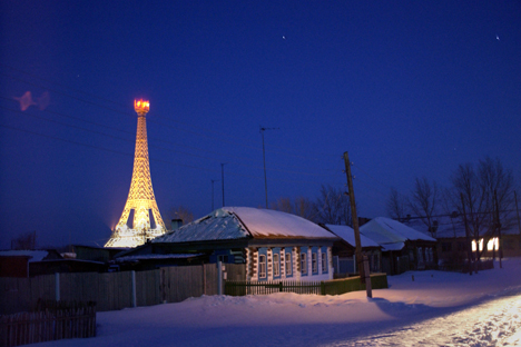 Desa Paris di Oblast Chelyabinsk, Ural Selatan. Sumber: TASS