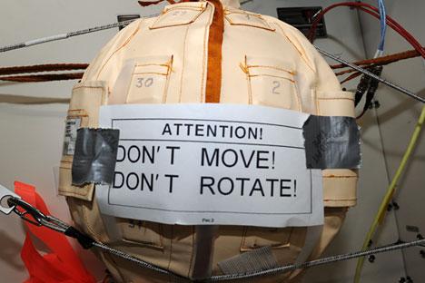 Sensor sensitif perangkat ini secara konstan mengakumulasi informasi terperinci mengenai radiasi. Foto: Rosatom
