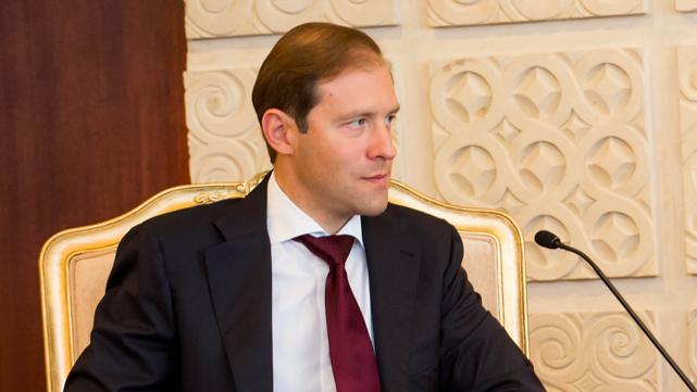 Menteri Perdagangan dan Industri Rusia Denis Manturov. Foto: Galuh Yudistiranto