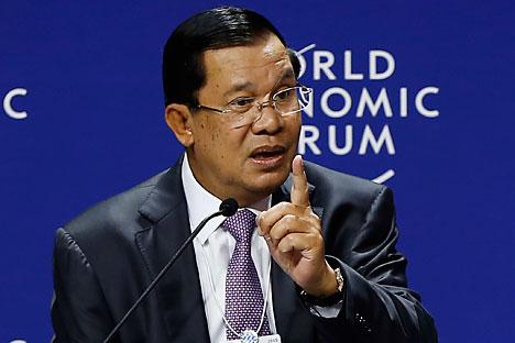 Perdana Menteri Kamboja Hun Sen. Foto: EPA