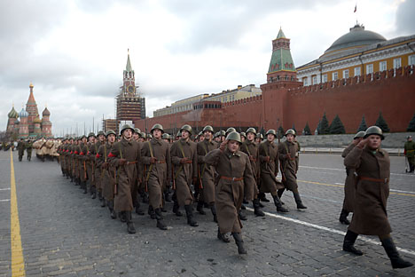 Parade Hari Kemenangan di Moskow tahun ini akan menjadi parade terbesar Rusia sejak bubarnya Uni Soviet. Foto: RIA Novosti