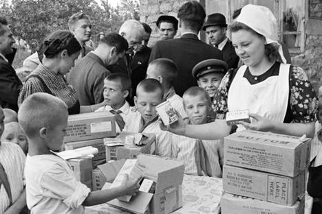 Seberapa besar bantuan ekonomi untuk Amerika Serikat bagi kepentingan militer Uni Soviet selama Perang Dunia II? Foto: RIA Novosti