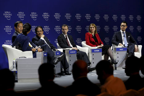 Forum Ekonomi Dunia di Asia Timur 2015 (World Economic Forum on East Asia 2015) yang digelar 19-21 April di Jakarta. Foto: Reuters