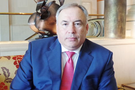 Direktur Dewan Bisnis Indonesia-Rusia Mikhail Kuritsyn. Foto:Fauzan Al-Rasyid/RBTH Indonesia
