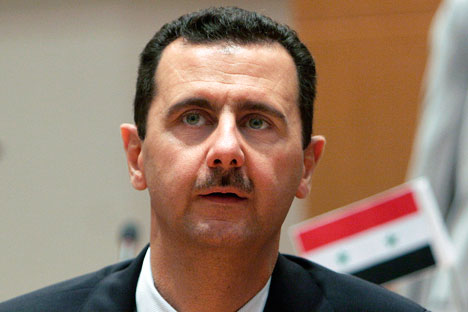 Presiden Suriah Bashar al-Assad. Foto: AP