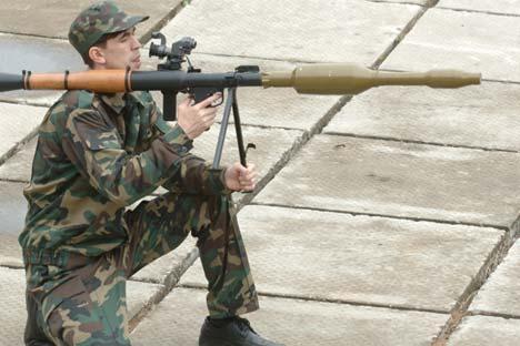 RPG Rusialah yang membawa pertempuran antara 'lapis baja dan proyektil' ke level baru.