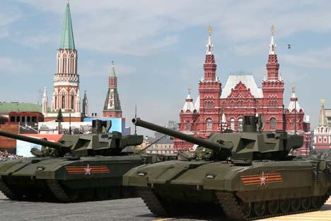 Armata belum bisa diekspor dalam 15-20 tahun mendatang karena sejumlah alasan. Foto: EPA