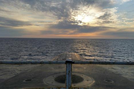 Kapal selam ini dilapisi dengan material karet kedap suara yang membuat kapal selam sulit dideteksi.  Foto: Oleg Kuleshov