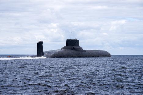 Kapal kelas Akula adalah kapal selam nuklir terbesar di dunia. Foto: Oleg Kuleshov