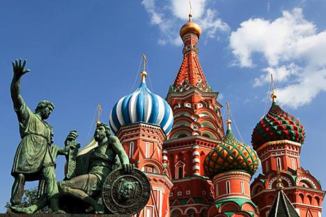 Foto: Katedral Santo Basil, Lapangan Merah, Moskow / Lori/Legion-Media