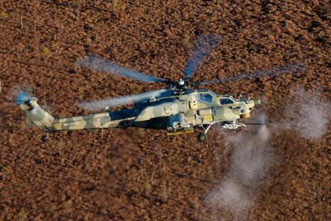 Ada sejumlah keuntungan dalam menggunakan helikopter penyerang untuk mendukung pertempuran. Foto: Press Photo