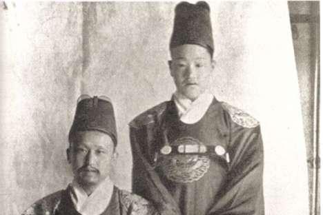 Monarki terakhir Korea Selatan, 1890: Raja Kojong dan penerusnya.