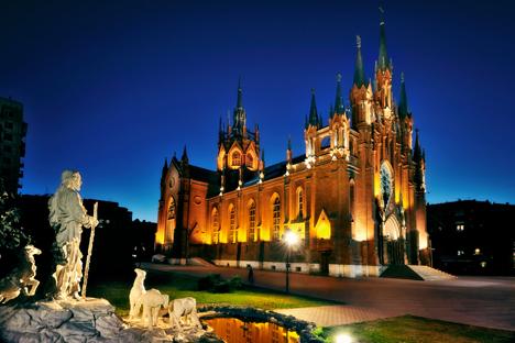 Katedral Perawan Suci Maria yang Tak Bernoda.
