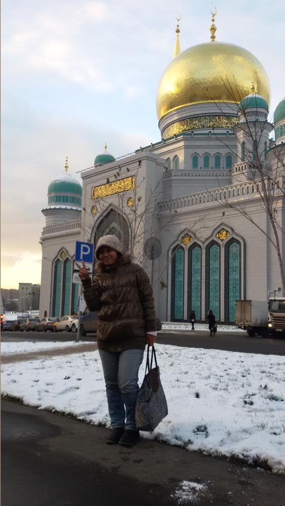 Masjid Katedral Moskow. Foto: Dewi Rusiana