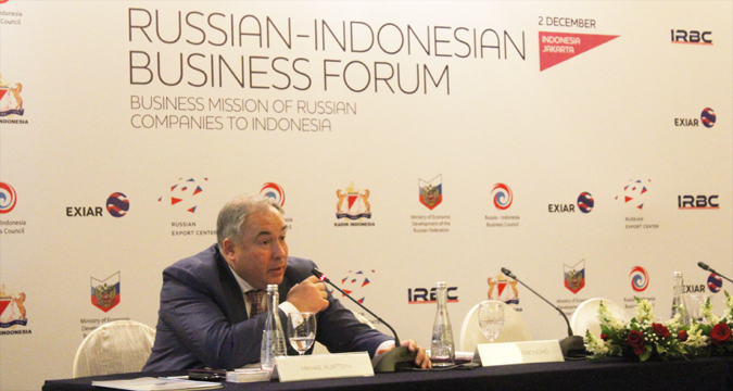 Direktur Dewan Bisnis Rusia-Indonesia Mikhail Kuritsyn