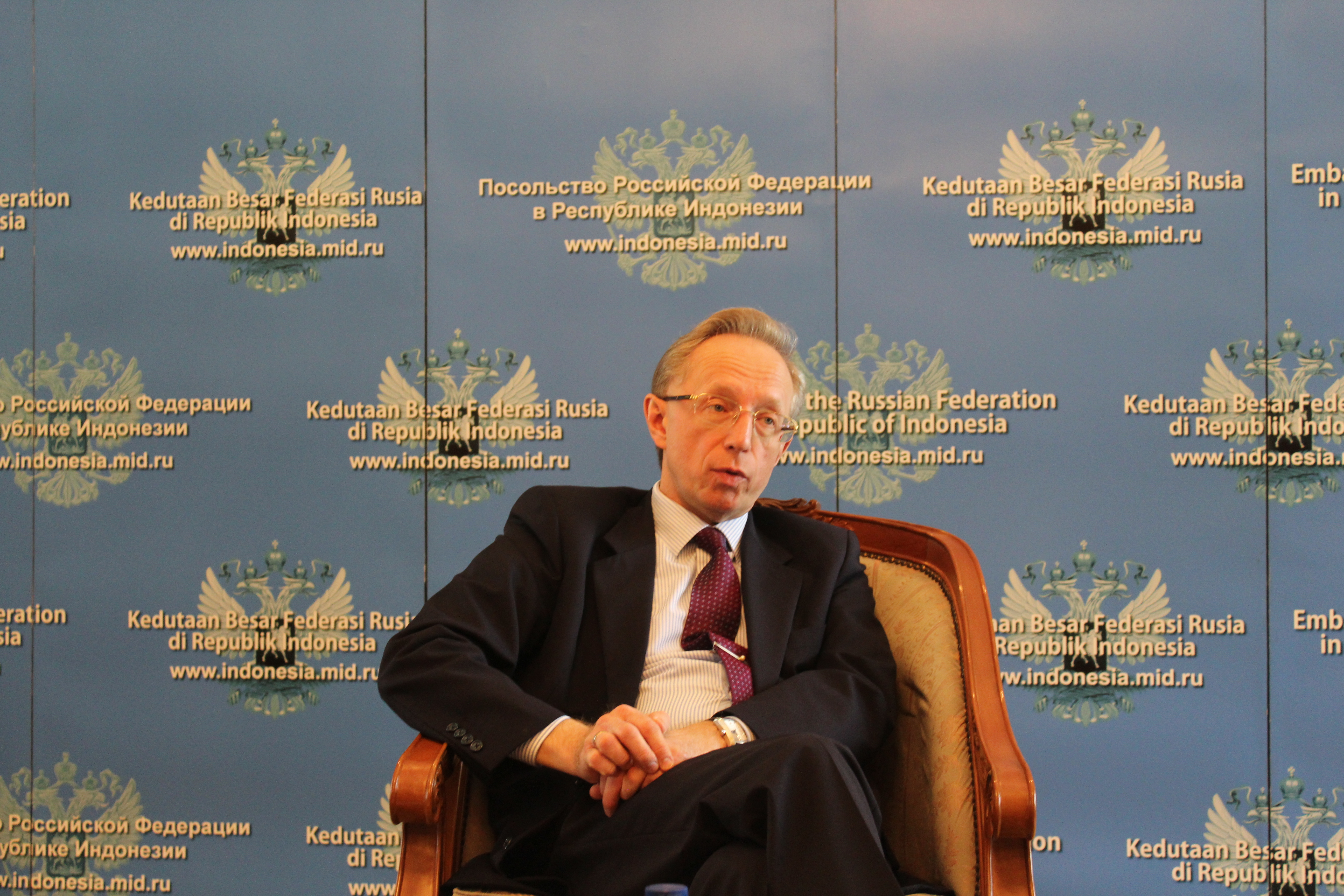 Duta Besar Federasi Rusia untuk Republik Indonesia Mikhail Galuzin.