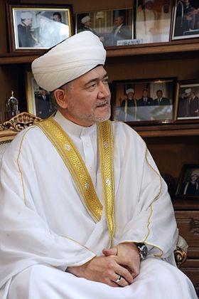 Ketua Dewan Mufti Rusia Syekh Ravil Gaynutdin. Sumber: Wikipedia
