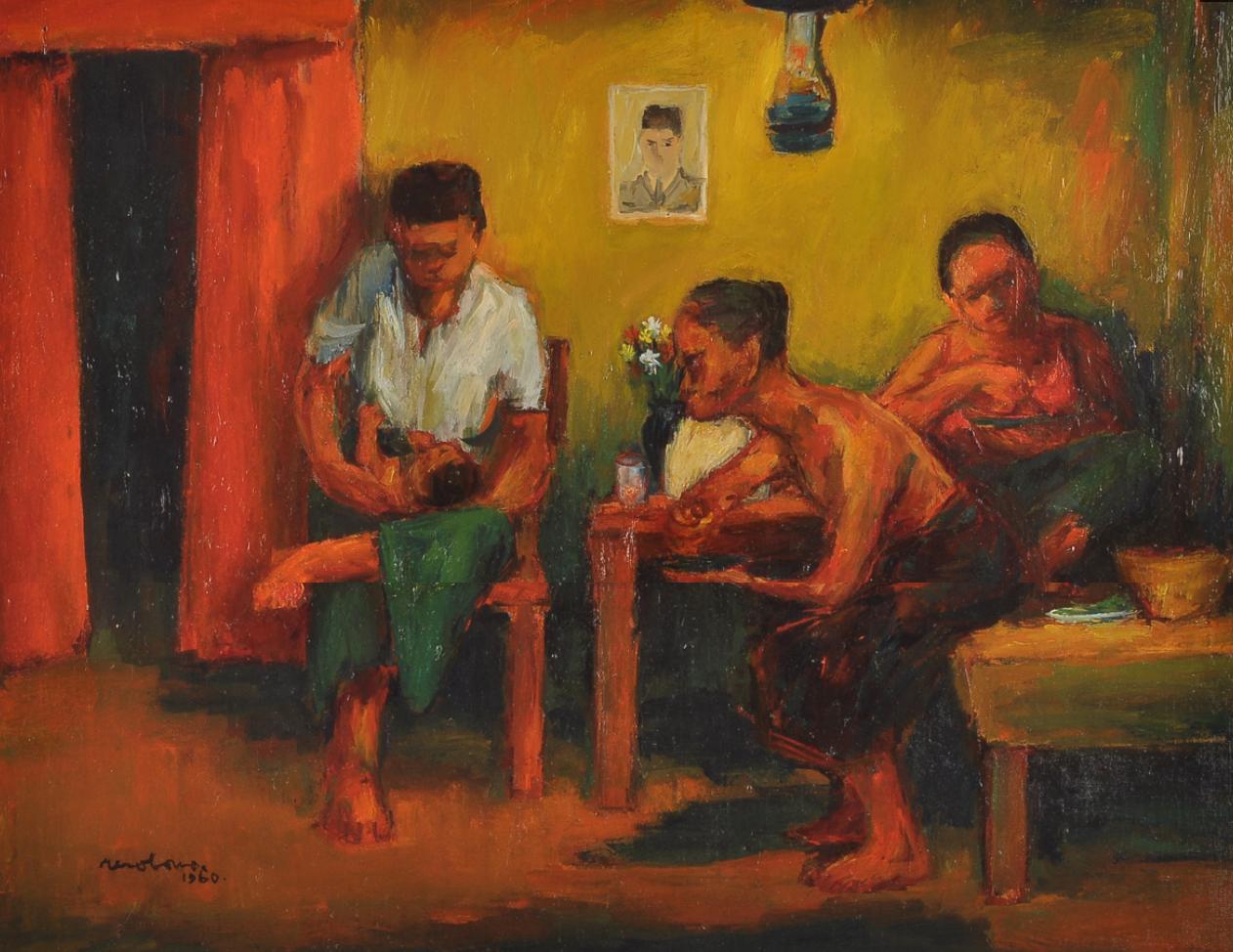 Resobowo. Keluarga, 1960.