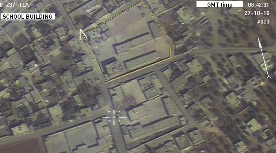 Pejabat Moskow mengatakan bahwa hasil temuan drone Rusia bisa diverifikasi oleh pihak Amerika. Sumber: Kementerian Pertahanan Rusia