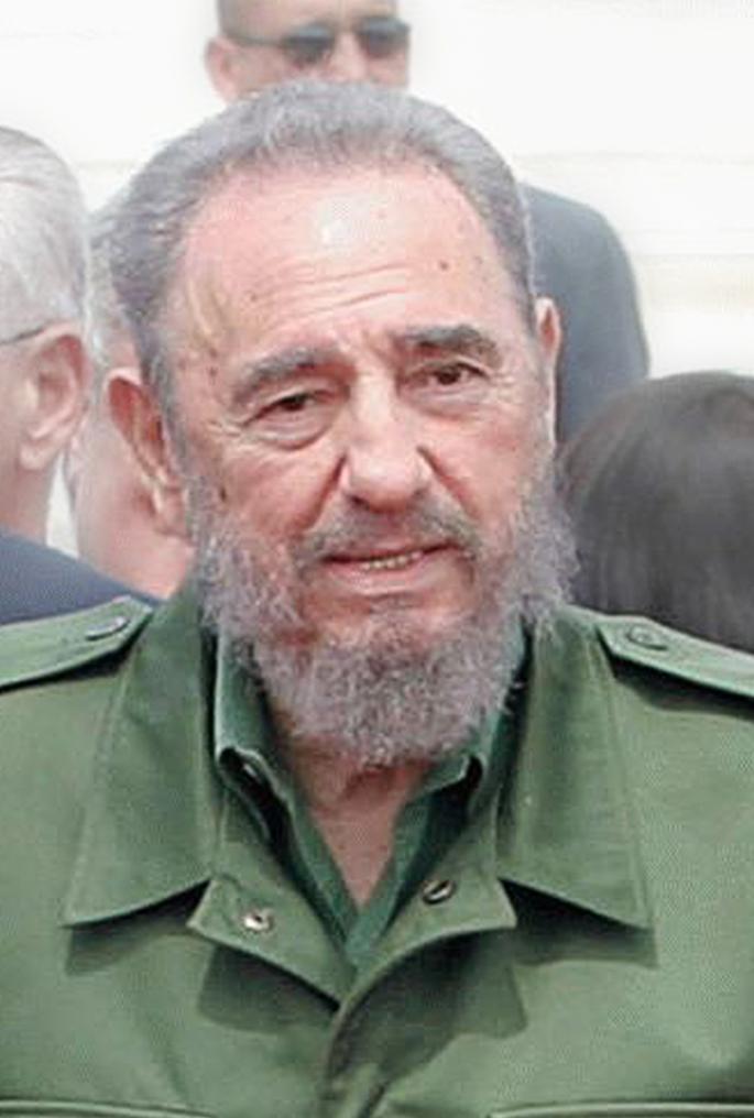 Fidel Castro memimpin Kuba sejak 1959 – 2008.