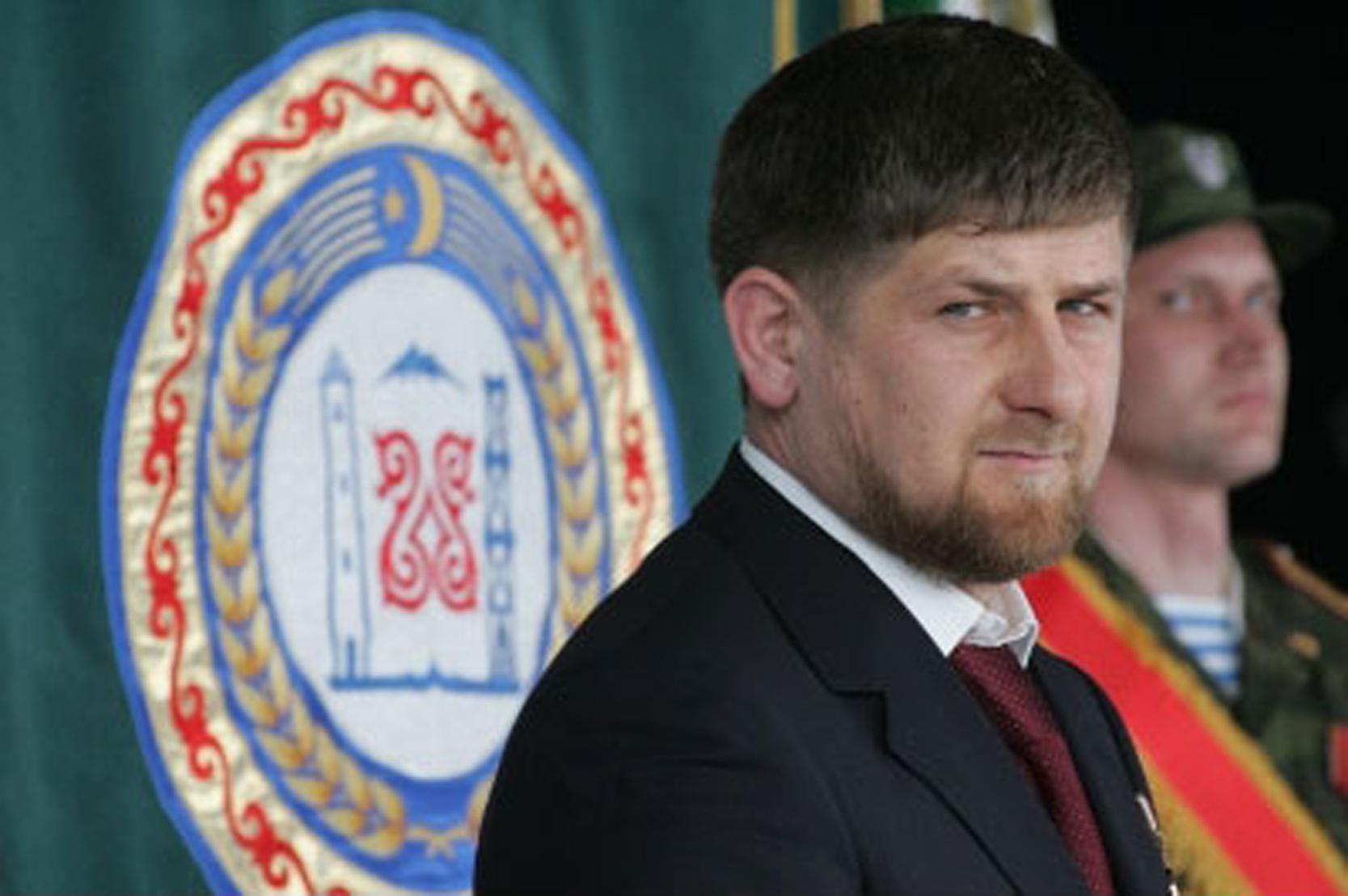 Kepala Republik Chechnya Ramzan Kadyrov.