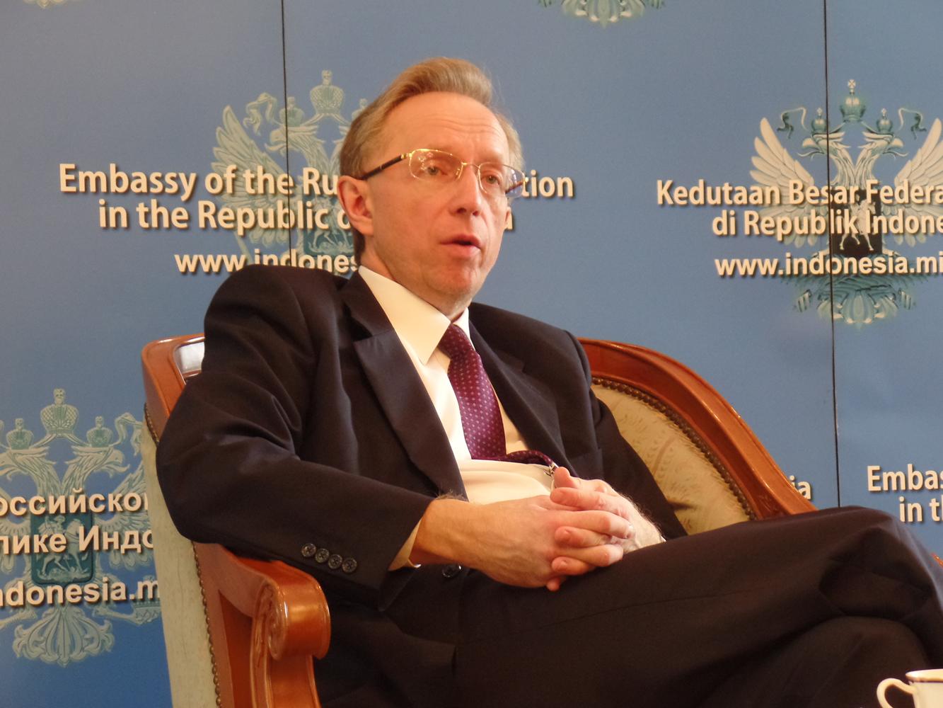 Duta Besar Rusia untuk Indonesia Mikhail Galuzin.