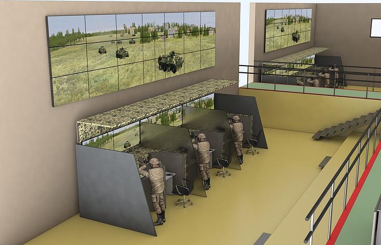 Medan perang virtual itu memungkinkan perbaikan fungsi robot dan pengecekan kesalahan, baik di tahap perancangan maupun percontohan.
