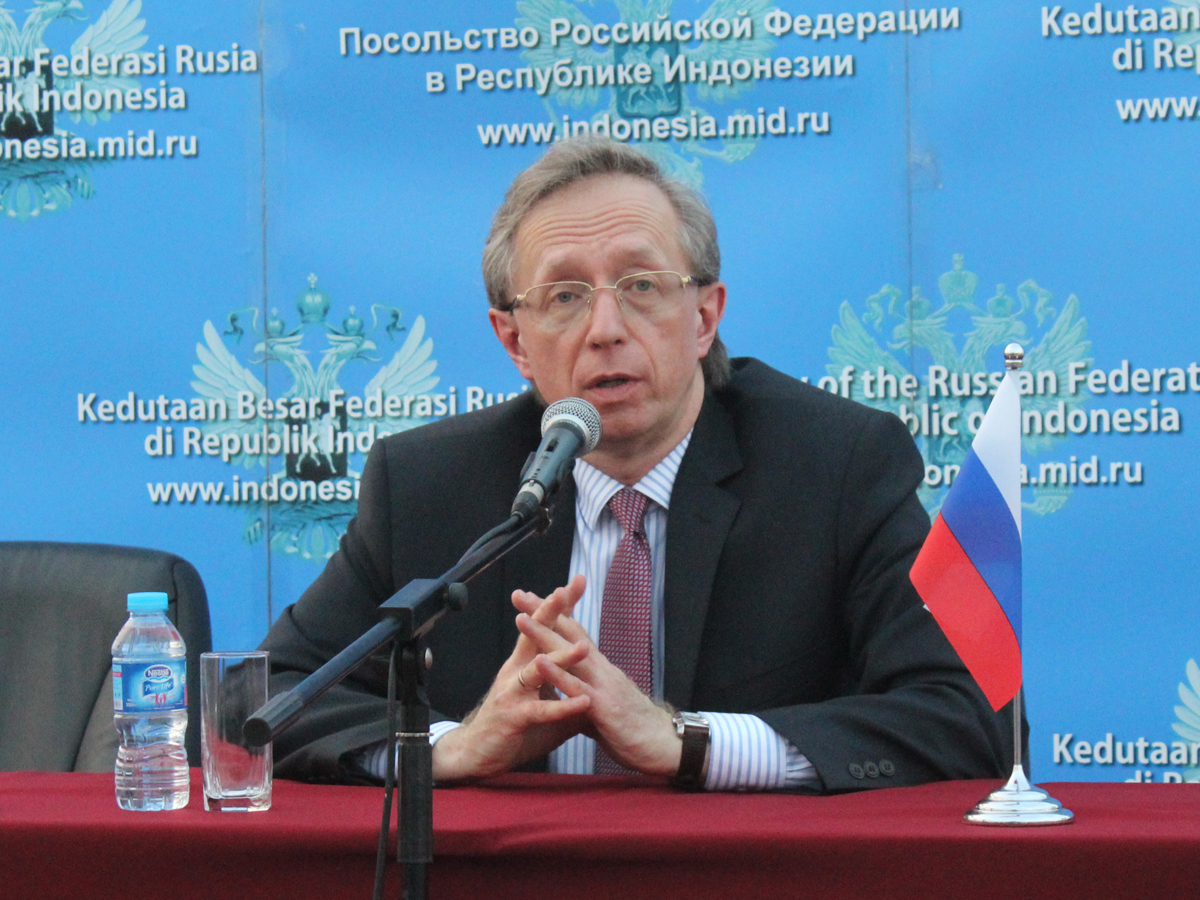 Duta Besar Rusia untuk Indonesia Mikhail Galuzin
