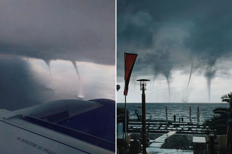 Торнадо в Сочи