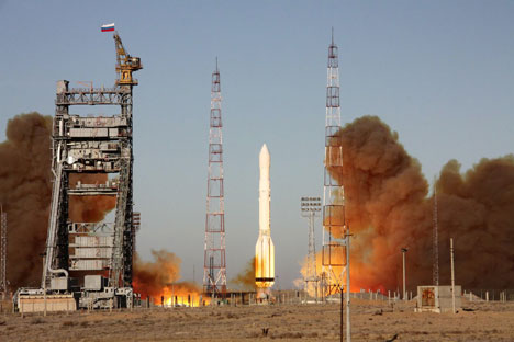 Proton-M rocket launch at Baikonur. Source: ITAR-TASS