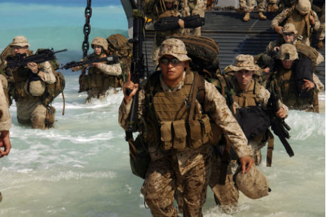 U.S. marines from the 13th Marine Expeditionary Unit. Source: en.wikipedia.org